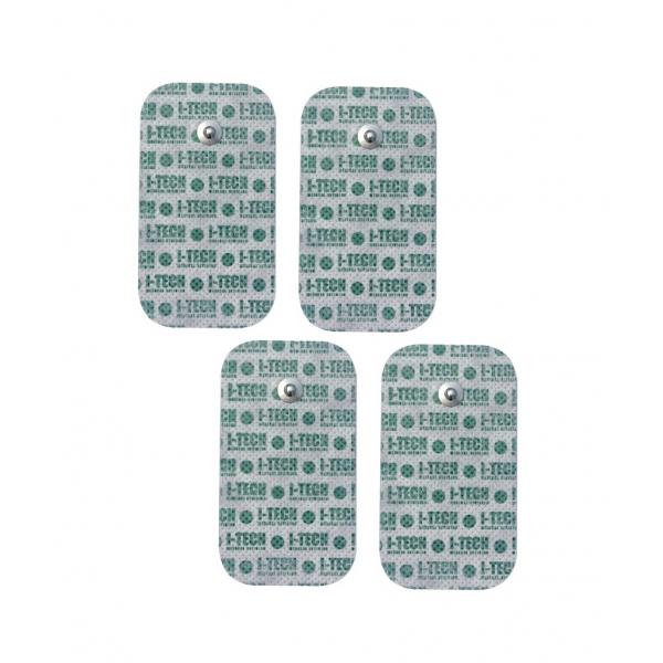 16266 elettrodi grandi attacco a bottone 50 x 90 600
